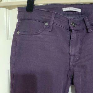 Rich & Skinny purple skinny jean
